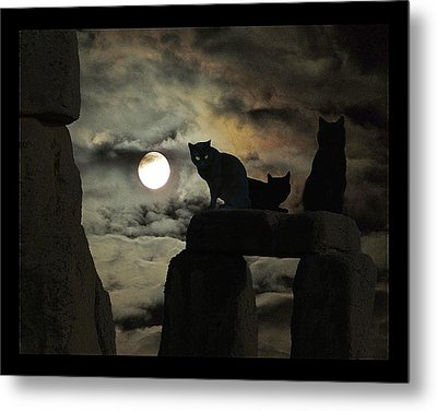 Celtic Nights Metal Print by I'ina Van Lawick
