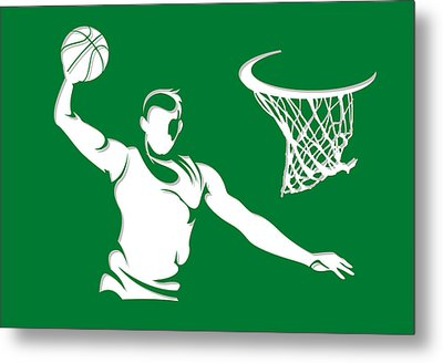 Celtics Shadow Player1 Metal Print