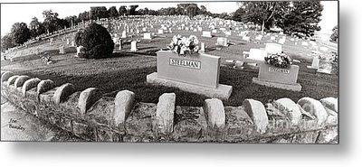 Cemetery  Fayettville Tennessee Metal Print by   Joe Beasley