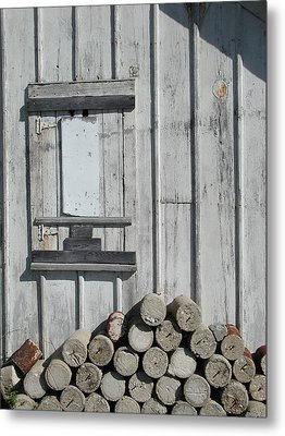 Cemetery Shed Metal Print by Joseph Yarbrough