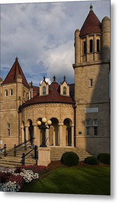 Centenary Methodist Church In New Bern Nc Metal Print by Chris Flees