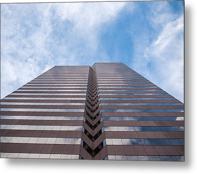 Center At 600 Vine Metal Print