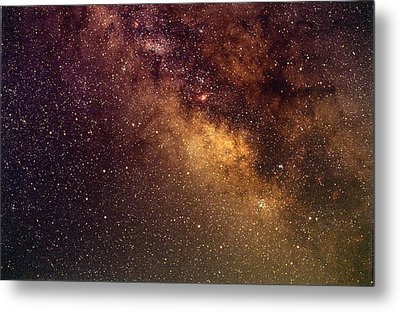 Center Of The Milky Way Metal Print