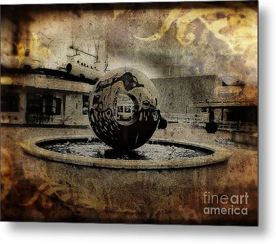Center Of The World Metal Print by Doc Braham
