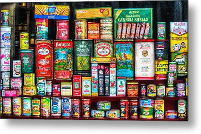 Central Grocery Essentials Metal Print by Brenda Bryant