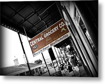 Central Grocery Metal Print by Scott Pellegrin
