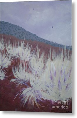 Metal Print featuring the painting Central Oregon Contrasts by Suzanne McKay