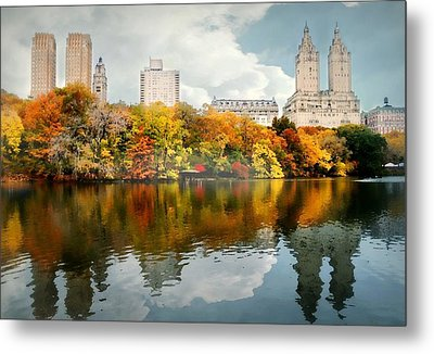 Central Park #1 Metal Print by Diana Angstadt