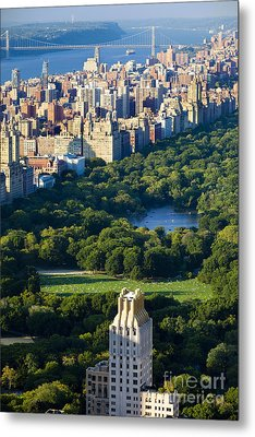 Central Park Metal Print by Brian Jannsen