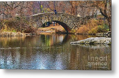 Central Park II Metal Print by Chuck Kuhn