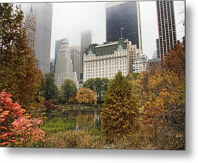 Central Park Metal Print by June Marie Sobrito
