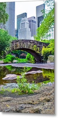 Central Park Nature Oasis Metal Print