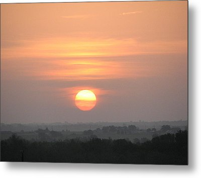 Metal Print featuring the photograph Central Texas Sunrise by John Glass