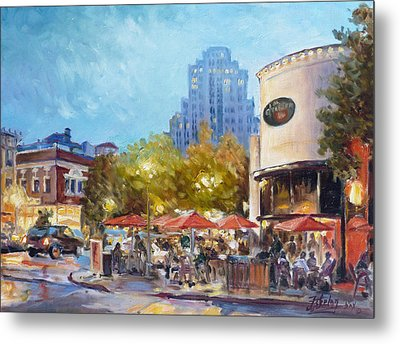 Central West End - St.louis Metal Print by Irek Szelag