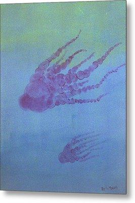 Cephalopod Metal Print by Rich Mason