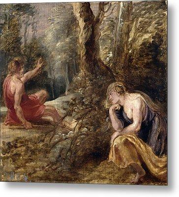 Cephalus And Procris Metal Print by Peter Paul Rubens