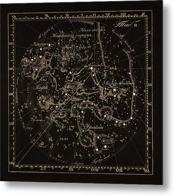 Cepheus Constellations, 1829 Metal Print by Science Photo Library