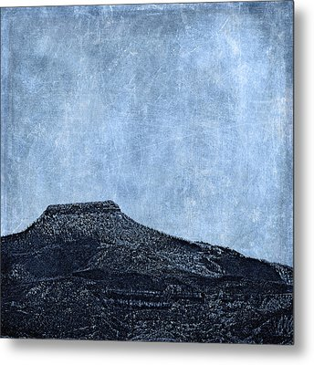 Cerro Pedernal Metal Print by Carol Leigh