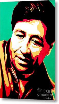 Cesar Chavez Metal Print