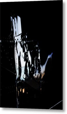 Cessna Reflection Metal Print by Paul Job