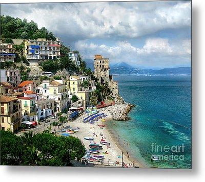 Cetara. Amalfi Coast Metal Print by Jennie Breeze
