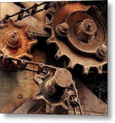 Chain Driven  Metal Print by Steven Milner