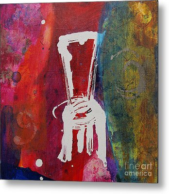 Chair Metal Print by Robin Maria Pedrero