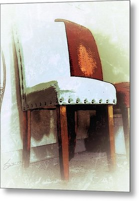 Chairs Metal Print by Robert Smith