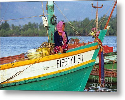 Cham Woman 02 Metal Print by Rick Piper Photography