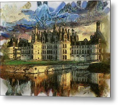 Chambord Castle Metal Print by Georgi Dimitrov