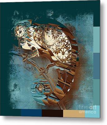 Chameleon  - J067070615 - Tq01 Metal Print