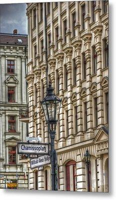 Chamissoplatz Metal Print by Nathan Wright