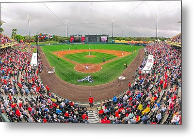Champion Stadium II Metal Print by C H Apperson
