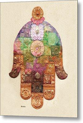 Chamsa Metal Print by Michoel Muchnik