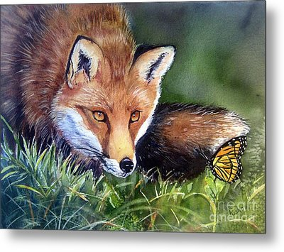Chance Encounter Metal Print by Patricia Pushaw