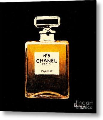 Chanel No. 5 Metal Print