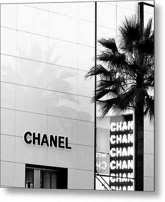 Chanel On Rodeo Drive Metal Print by Ronnie Caplan