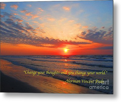 Change 3 Metal Print by Michael Anthony