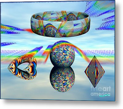 Changing Altitudes Metal Print by Bobby Hammerstone