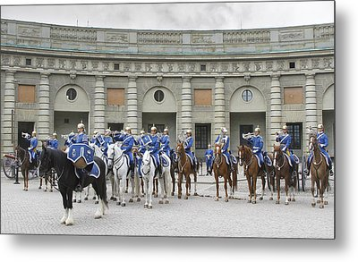 Metal Print featuring the photograph Changing Of The Guard II by Roy  McPeak