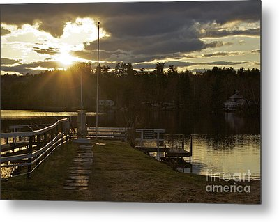 Metal Print featuring the photograph Changing Skies by Alice Mainville
