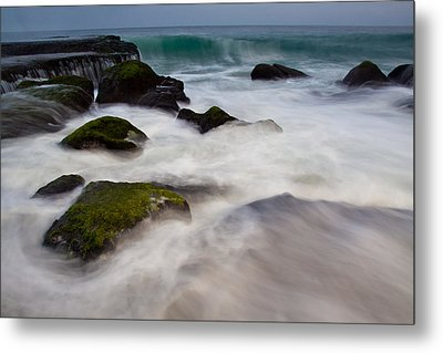 Changing Tides Metal Print by Andrew Raby