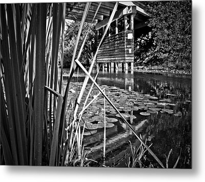 Metal Print featuring the photograph Channel by Adria Trail