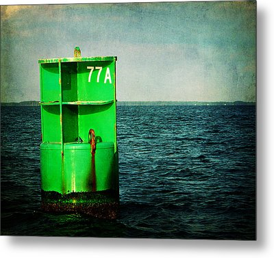 Channel Marker 77a Metal Print