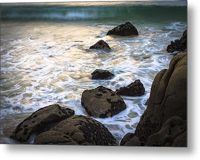Metal Print featuring the photograph Chanteiro Beach Galicia Spain by Pablo Avanzini