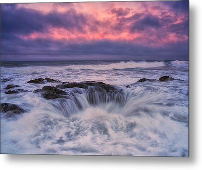 Chaos At The Well Metal Print by Darren  White