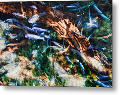 Metal Print featuring the photograph Chaotic Mess by Joshua Minso
