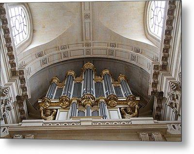 Chapel At Les Invalides - Paris France - 01133 Metal Print by DC Photographer