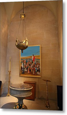 Chapel At Les Invalides - Paris France - 01134 Metal Print by DC Photographer