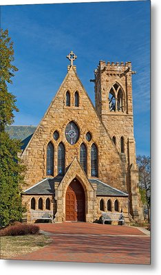 Chapel At Uva Metal Print